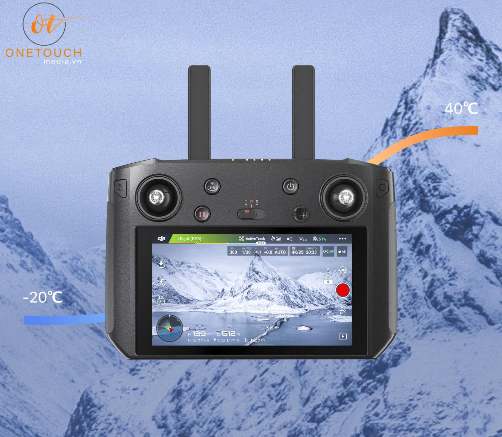 Smart Controller chịu nhiệt từ -20oC lên đến 40oC