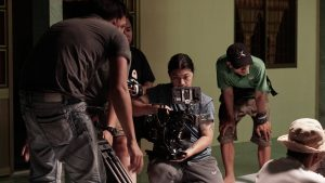 onetouch behind the scene tvc in ca mau
