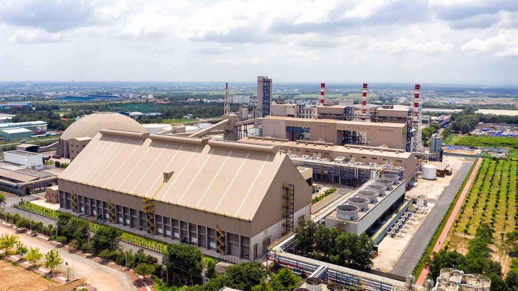 Hình ảnh Công ty TNHH Hưng Nghiệp Formosa Nhơn Trạch từ góc nhìn Flycamnhà máy xí nghiệp