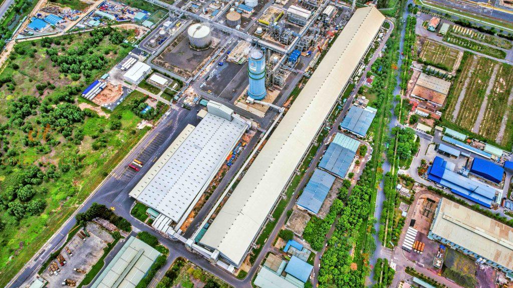 Hình ảnh được chụp bằng flycam