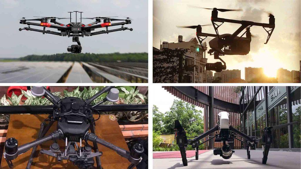 thiết bị bay flycam chuyên nghiệp