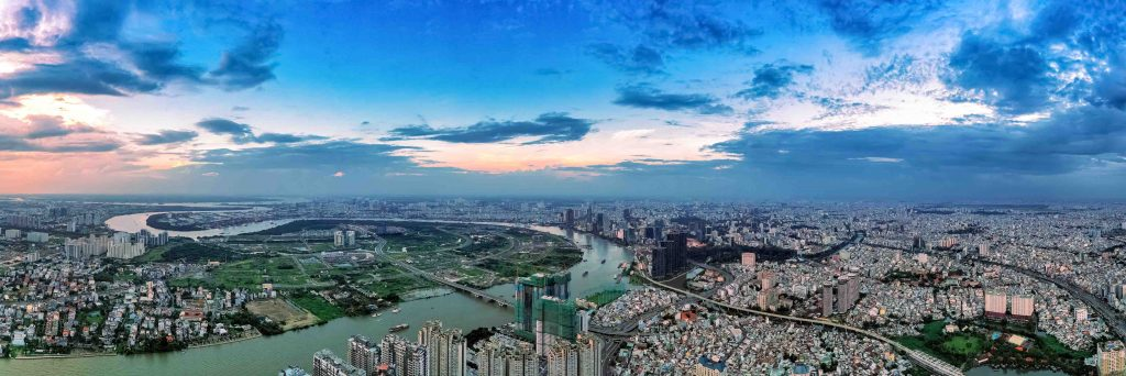 Hình ảnh chụp bằng flycam chuyên nghiệp