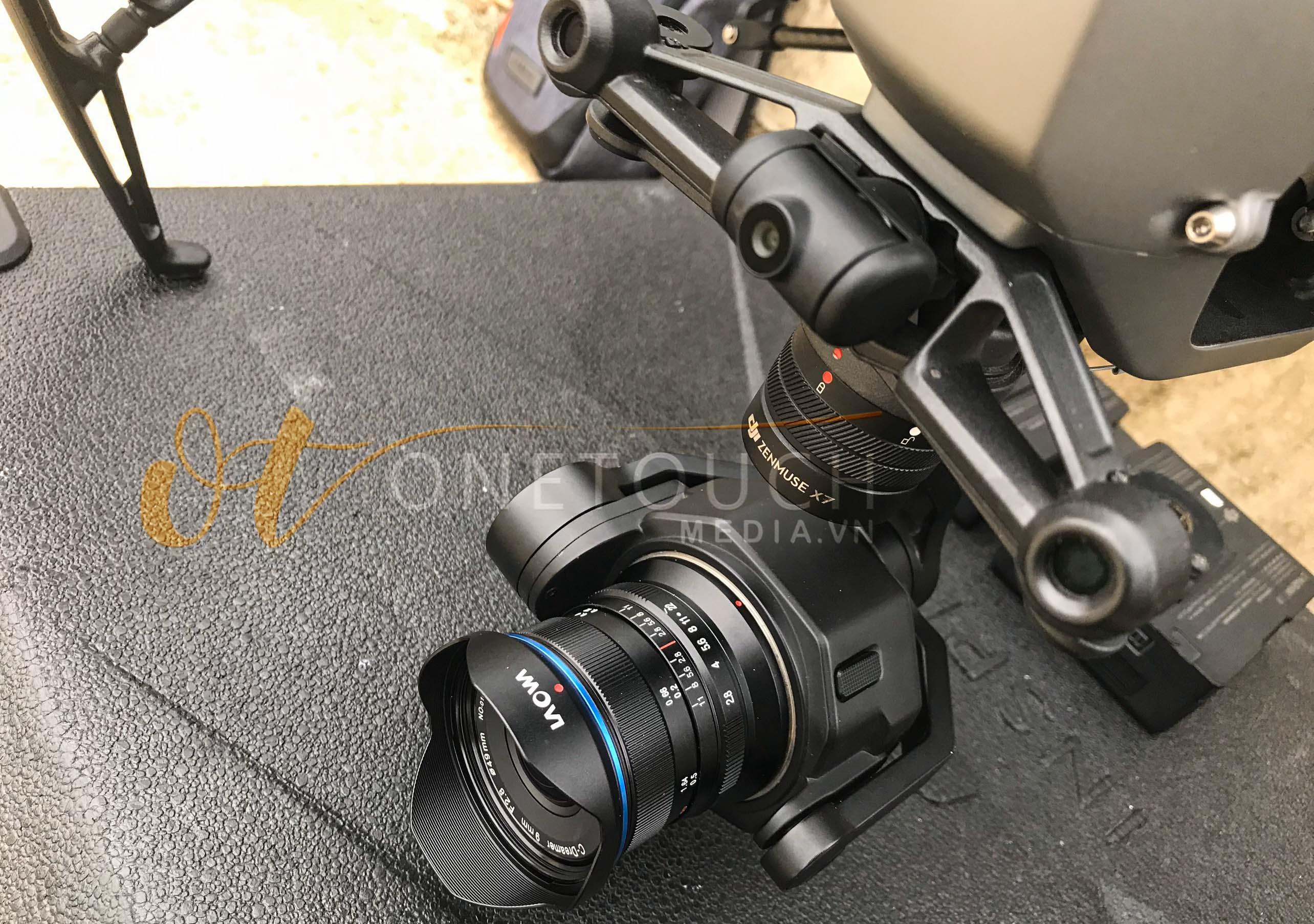 cho thuê ống kính 7.5mm, 9mm for DJI inspire 2 giá rẻ