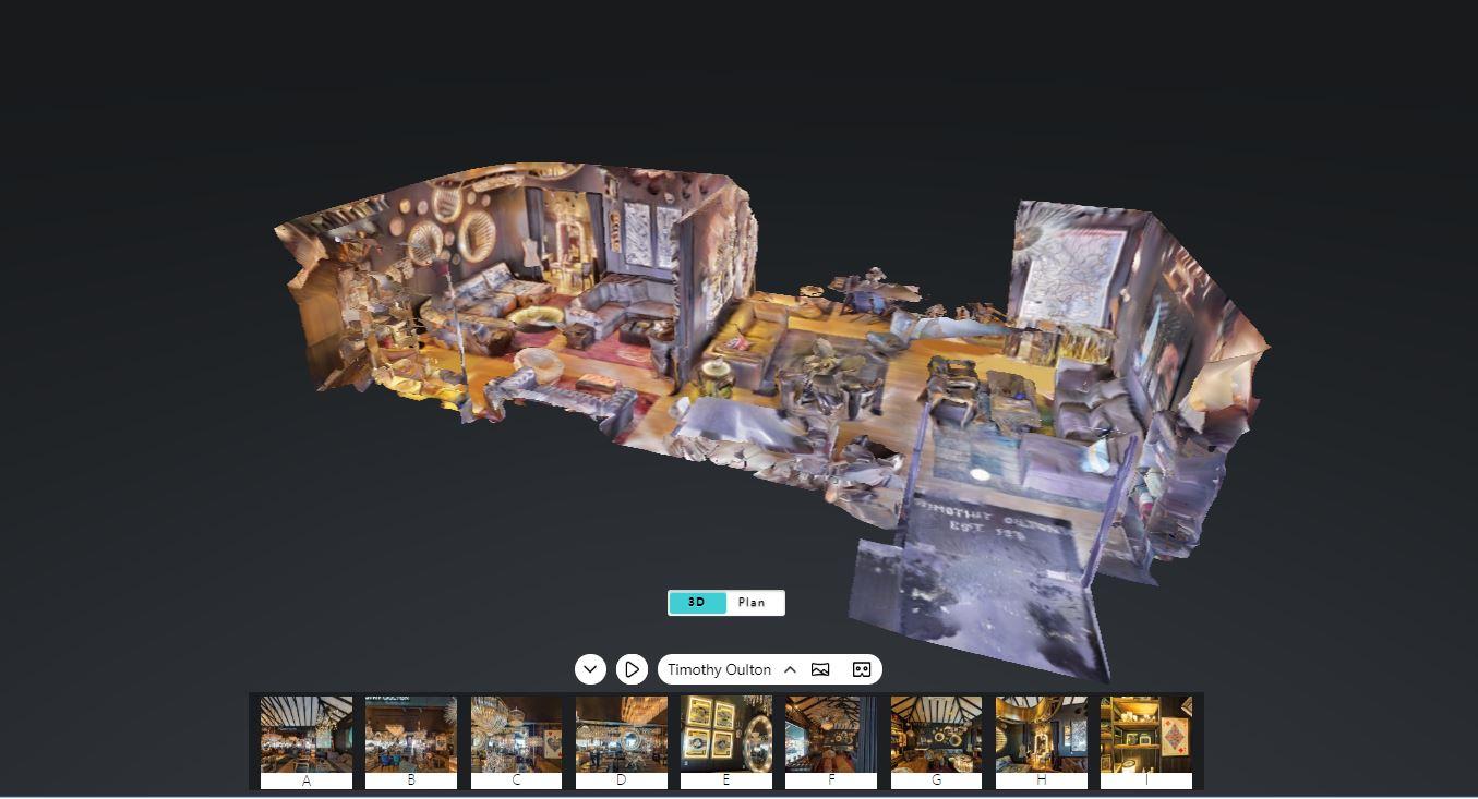 Tạo toủ tham quan 360 độ, dịch vụ 3D scanning nhà mẫu, dịch vụ scanning không gian 3D