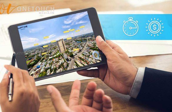 chụp ảnh 360 dự án bất động sản, thực tế ảo 360 dự án bất động sản
